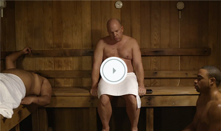 TV Spot - Sauna Guy