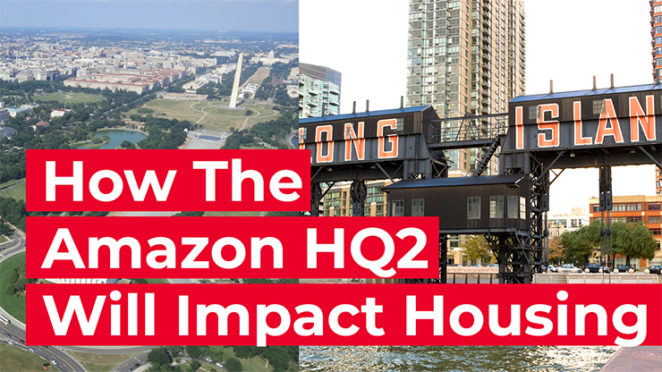 The Amazon HQ2 and the housing market