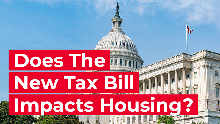 The new tax bill and housing