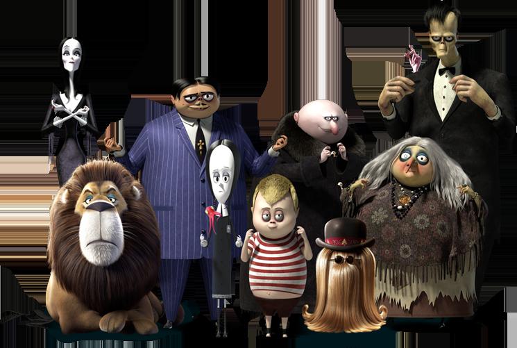 Addams Family 2 Character